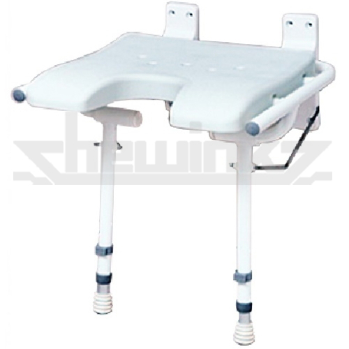 Wondrous Wb402 Foldable Shower Seat Wall Mounted Chewink Corp Ocoug Best Dining Table And Chair Ideas Images Ocougorg